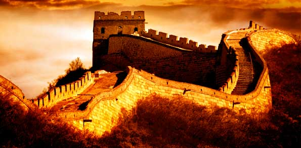 Forex Market Commentaries - Great Wall of China