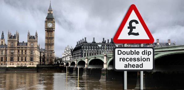 Forex Market Commentaries - UK Heading To Double Dip Recession