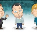 The Happy Trio av EUR, USD og BNP
