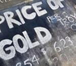 Золота ціна падає на глобальні настрої