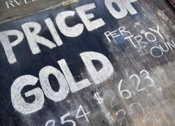 Gold Price Falls On Global Sentiment