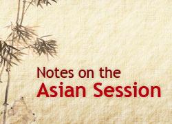 Notas sobre a sessão asiática