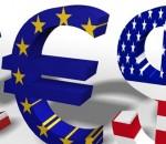 GBP versus USD og EUR