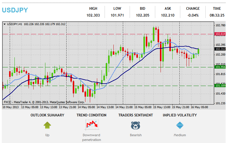 Forex Technical & Market Analysis FXCC May 16 2013 35