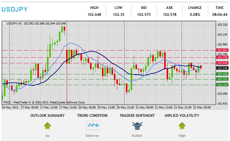 Forex Technical & Market Analysis FXCC May 22 2013 38