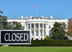 USA-White-House-closed