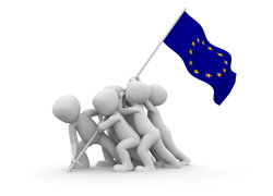eu-flag-raised