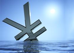 sinking-yen