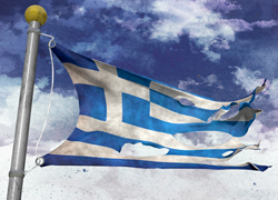 greek-flag-tattered