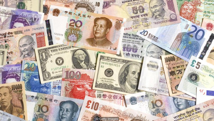 Multi national bank notes