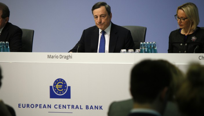 Mario Draghi and the ECB
