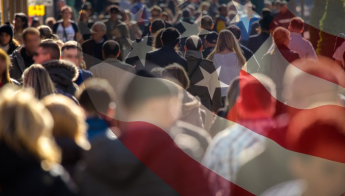 American flag and people 1200x627