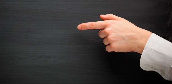 Forex Market Commentaries - Pointing the Finger