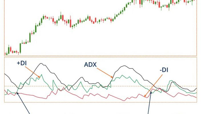 Using the Directional Movement Index (DMI) when trading Forex